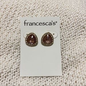 Francesca's Amber Earrings
